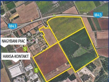 100 hektár földet vett a Pick: az ELI és a sztráda között, a Hansával szemben tervezi a zöldmezős beruházást