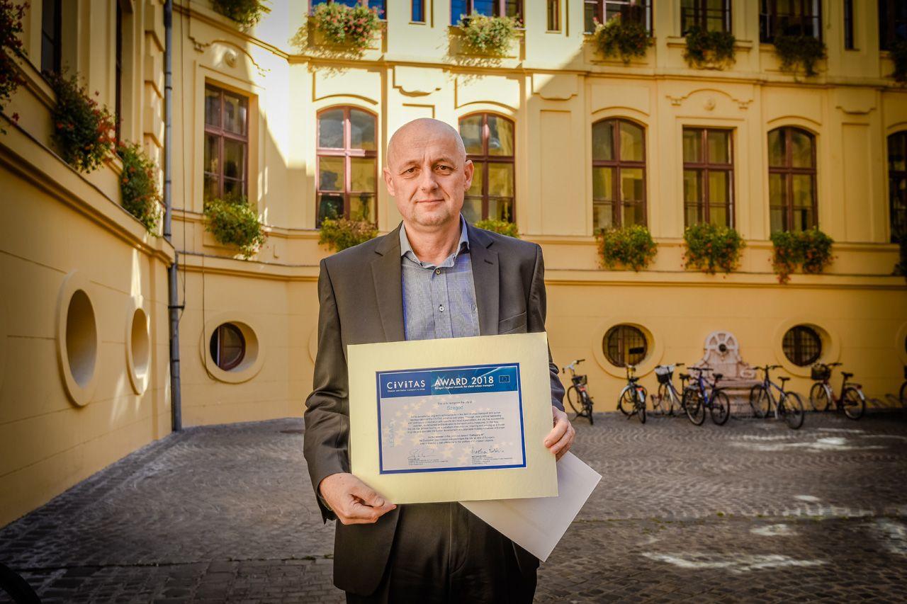 Nemzetközi díjjal ismerték el a szegedi városi közlekedés korszerűsítését