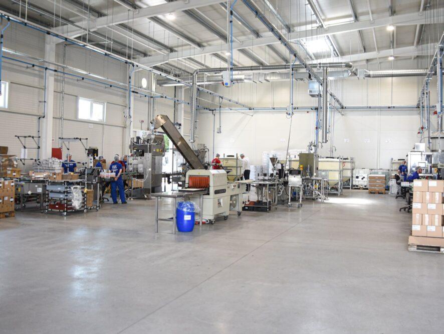 Új Florin fertőtlenítőszer-gyár Szegeden