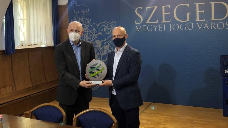 Elismerték Szeged több évtizedes klímabarát tevékenységét