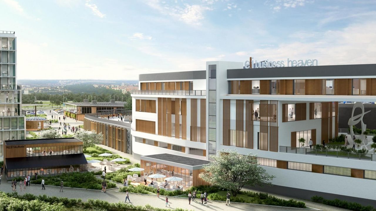 ELI Business Heaven, new business district in Szeged